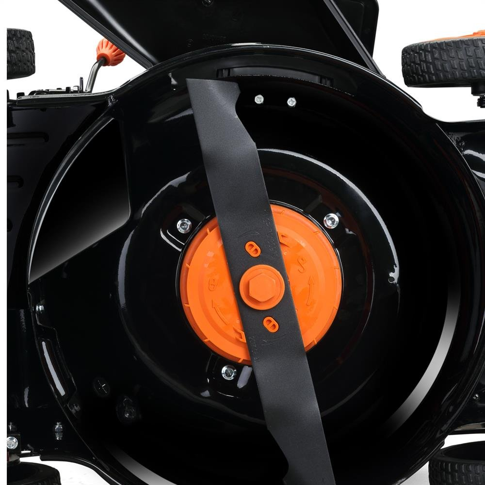 Fuxtec 120V Elektro Akku Rasenmäher EA146 Li-Ion Mäher Samsung Batterie Schnitthöhe 7-Fach verstellbar von 25-75 mm…