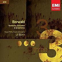 Franz Berwald : Ouvertures, Concertos et Symphonies