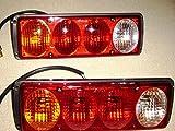 QXXZ 24V Rücklichter LKW-Anhänger Fahrgestell Kipper 2-tlg