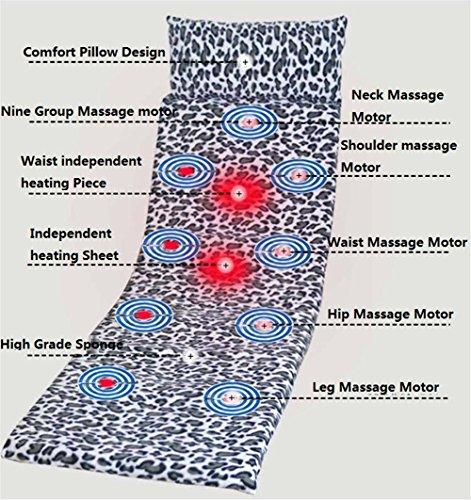 AMYMGLL Matelas de massages multifonctions massages de vibrations massages soins infirmiers soins de santé vieillissants maçonnerie pliable massif taille 176X54X20CM