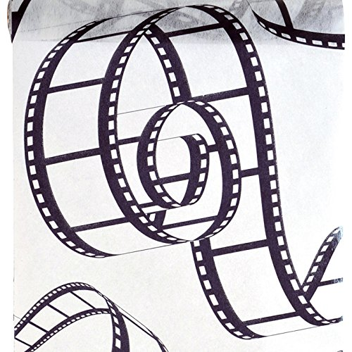 PARTY DISCOUNT NEU Tischläufer Cinema, 30cm x 5m, -