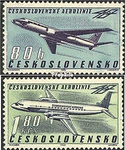 Tchécoslovaquie 1405-1406 (complète.Edition.) 1963 avions (Timbres pour les collectionneurs)
