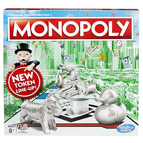 Hasbro Gaming C1009302 Monopoly Classic Game