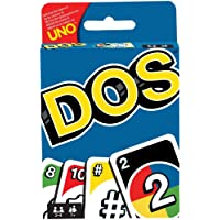 Mattel Games FRM36 DOS Kartenspiel, geeignet für 2 - 4 Spieler, Spieldauer ca. 30 Minuten, ab 5 Jahren (Handbuch wird in…