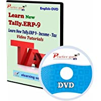 New Tally.Erp 9 Income Tax Video Tutorial [CD-ROM]