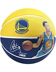 Spalding NBA Player Stephen Curry Ball 83 – KD-400Z, Amarillo/Azul, 5, 3001586010915