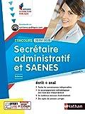 Secrétaire administratif et SAENES - Catégorie B - 2018