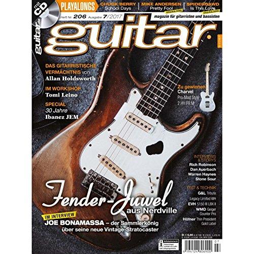 Fender Stratocaster - Joe Bonamassa - guitar Magazin mit Play along CD - Interviews - Workshops - Gitarre Playalongs - Gitarre Test und Technik