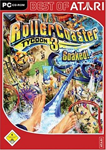 Roller Coaster Tycoon 3: Soaked! [Best of