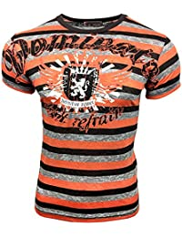 T-Shirt 498 Lila Rusty Neal, Größe:M, Farbe:Orange