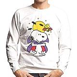 Vendax Snoopy fr/ío Fuera Unisexo Hombre Mujer Sudadera con Capucha Gris Mens Womens Hoodie Sweatshirt Grey