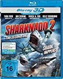 SHARKNADO 2 - The Second One - Sharks Happens ( Special uncut Edition - Real 3D Blu-ray )