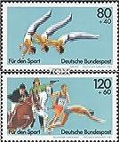 BRD (BR.Deutschland) 1172-1173 (kompl.Ausgabe) 1983 Sporthilfe (Briefmarken für Sammler)