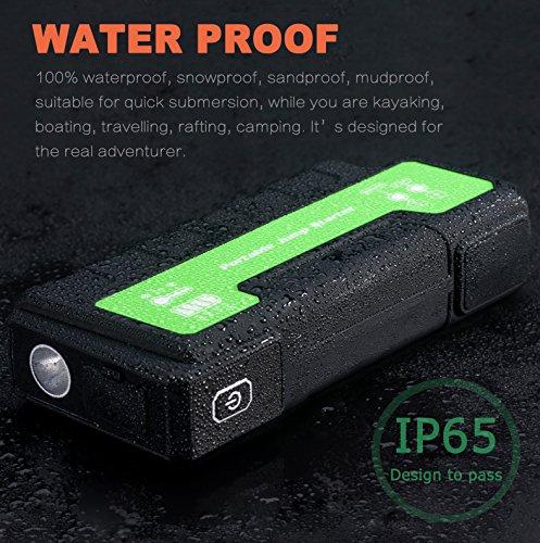 61N9jqFpPFL - Maxesla Jump Starter de 18000mAh, 850A Batería Arrancador de Coche (Batería Externa Recargable, LED Flashlight,smartphones, tablets pc)