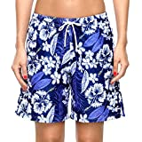Best Board Shorts - CharmLeaks Womens Floral Swimming Boardshorts Surf Swim Trunks Review