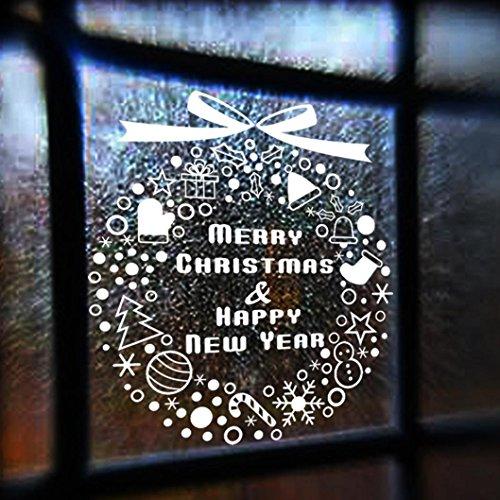 Zolimx Weihnachtsdekoration Aufkleber Fenster Aufkleber (Dress Fancy Kostüm Diy Ideen)