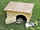Nouveauté Blitzen, maison-refuge De Luxe pour tortues terrestres sans le fond.