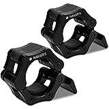 Navaris halterstangsluiters- Lock jaw collar set - 2x barbell sluiting - Halterstangsluiting - Sluitklemmen voor halterstange
