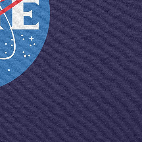 TEXLAB - Time Logo - Herren Langarm T-Shirt Navy