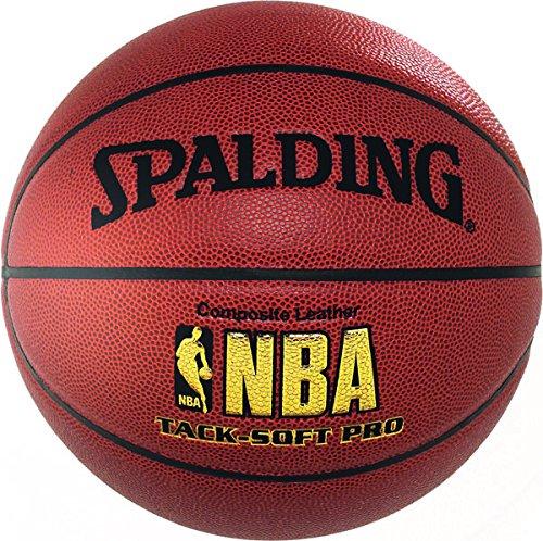 Spalding - Balón de Baloncesto NBA Tack Soft Pro talla 6