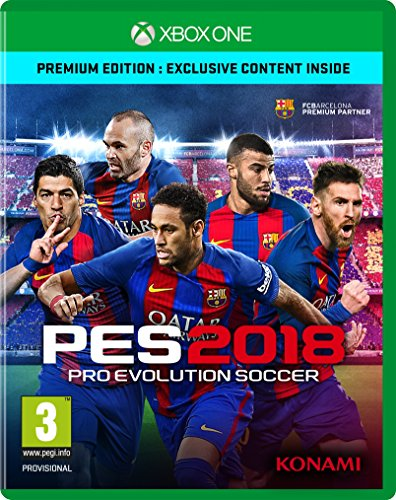 PES 2018 Pro Evolution Soccer (Xbox One)