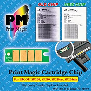 Print Magic Cartridge Chip for RICOH Aficio SP200,SP210, SP210su, SP204sfn