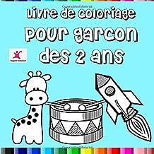 Livre de coloriage pour garçon dès 2 ans