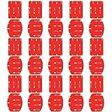 Neewer 15-Pack Doppelseitig Helm Kleber Aufkleber Flat und Gekrümmte Pads Halterungen für GoPro Hero 6 5 4 3+ 3 2 1 Hero Session 5 Black AKASO EK7000 Apeman SJ4000 5000 6000 DBPOWER AKASO und mehr