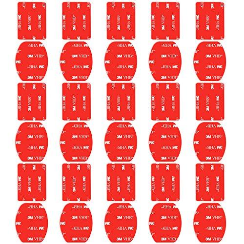Neewer Klebepads für GoPro Hero 6 5 4 3+ 3 2 Session 5 Black AKASO EK7000 Apeman SJ4000 5000 6000 DBPOWER AKASO WiMiUS Rollei QUMOX Campark Sony DV DJI OSMO Action