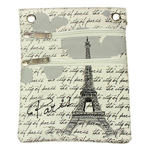 Pochette Passeport Paris Robin Ruth - Blanc