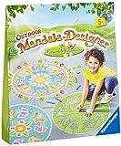 Ravensburger 29778 - Flowers und Butterflies - Outdoor Mandala-Designer