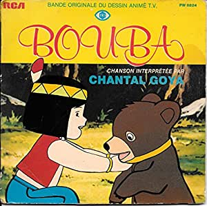 BOUBA LE PETIT OURSON - CHANTAL GOYA - 45 TOUR.