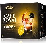 Café Royal Espresso 48 capsules Compatibles avec le système Nescafé (R)* Dolce Gusto(R)* - Lot de 3X16 - intensité 5/10 - cer