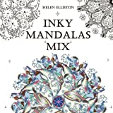 Inky Mandalas Mix: Themed Mandalas for relaxation: Volume 4 (Inky Colouring Books)