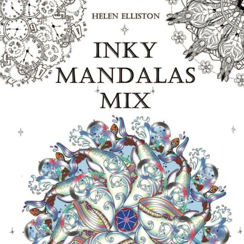 Inky Mandalas Mix: Themed Mandalas for relaxation
