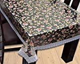 Yellow Weaves Dining Table Cover Waterproof Floral 6 Seater 60X90 Inches (Exclusive Design)