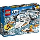 LEGO - 60164 - City - Jeu de Construction - L'hydravion de secours en mer