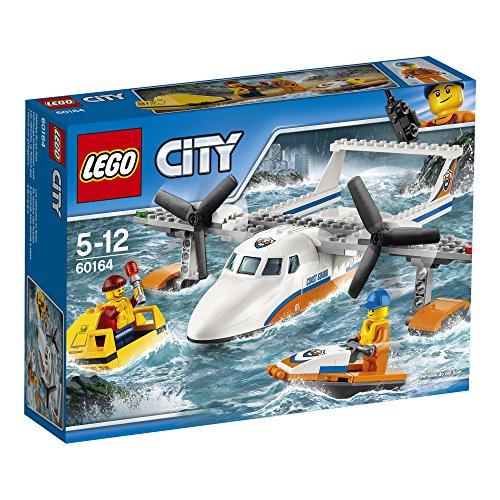 LEGO-UK-60164-Sea-Rescue-Plane-Construction-Toy