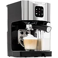Klarstein BellaVita Espressomaschine mit Milchschaum-Düse, 3in1 Kaffeemaschine, Siebträger, 20 Bar, 1450 Watt, 1.4 Liter…