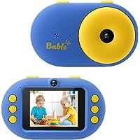 Bable Appareil Photo Enfants, Caméra Numérique et Cadeau pour Enfant Vidéo HD 1080P, Appareil Photo pour 3 à 12 Ans, 16G…
