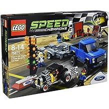 LEGO Speed Champions - Set con Ford F-150 Raptor y Ford A modificado, multicolor (75875)