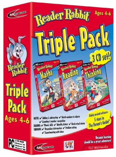reader-rabbit-triple-pack-maths-reading-thinking-4-6-years