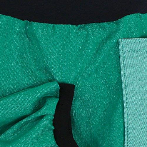 Ballonrock PAULIZ – grüner Damen Ballonrock aus Jeans - 3