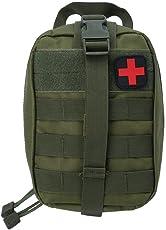 KANKOO Erste-Hilfe-Tasche Nur Molle Medical EMT Tasche im Freien Taktische Notfall-Dienstprogramm IFAK Pack Outdoor-Reisen Jagd
