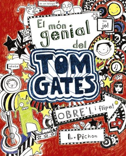 """"""" Em dic Tom Gates. Quan els profes no m?estan mirant amb uns ulls com unes taronges, m?agrada dibuixar i pensar mil maneres d?empipar la Dèlia (la meva germana). Els profes diuen que em distrec molt i que no em concentro, però és mentida, perquè ara"""