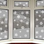 42 Original Snowflake Window Clings b...