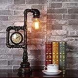 QINAIDI LED Klempner Tischlampe Industriellen Stil Retro Kreative Kreative Roboter Modellierung, Bar, Wohnzimmer, Studie, Schlafzimmer Tischlampe