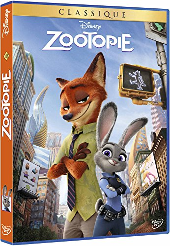 Zootopie : film DVD