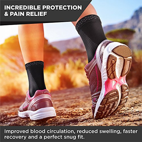 Ankle-Support-Ankle-Brace-Compression-Ankle-Sleeve-Foot-Support-for-Plantar-Fasciitis-Achilles-Tendonitis-Arch-Heel-Spurs-Pair-Socks-for-Womens-Men-Kids-Best-for-Running