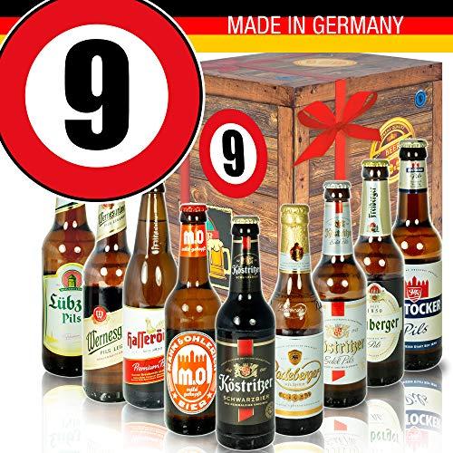 Bierset   Bierbox DDR   Zahl 9   Geschenke Papa